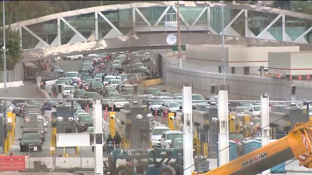 Dept. of Homeland Security proposes border crossing fee
