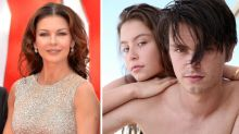 Catherine Zeta-Jones shares rare photo of kids all grown up