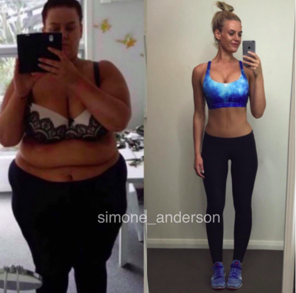 Woman Shares Body Transformation Selfie After Losing 200 ...