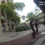 Black Lives Matter: Florida police officers laugh and brag on video about shooting rubber bullets at protesters
