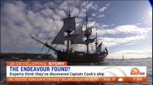 Experts think they've found Captain Cook's ship