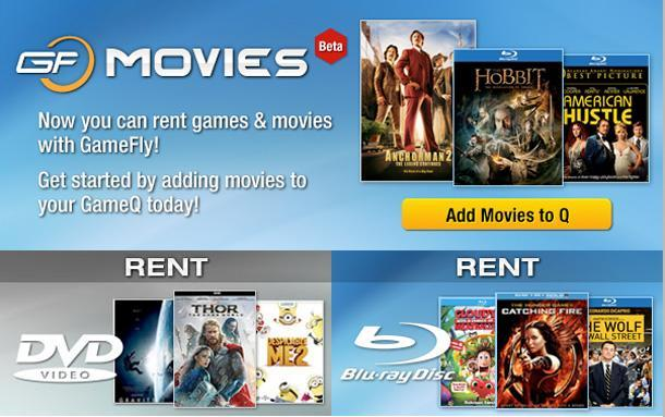 Gamefly tries adding movie rentals to its disc-by-mail service