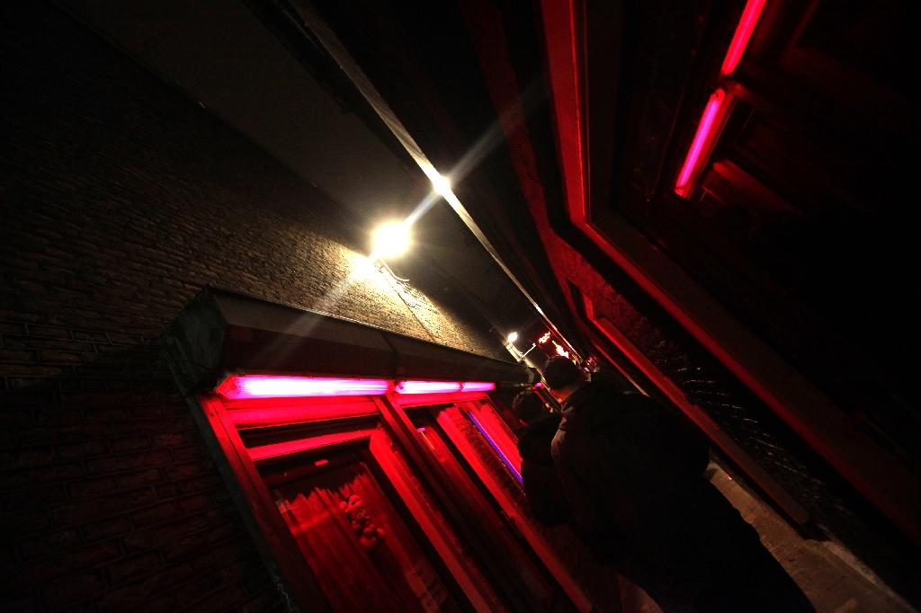 Amsterdam S Red Light District Without A Condom Not For A Million