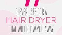 11 Clever Uses for a Hair Dryer That Will Blow You Away