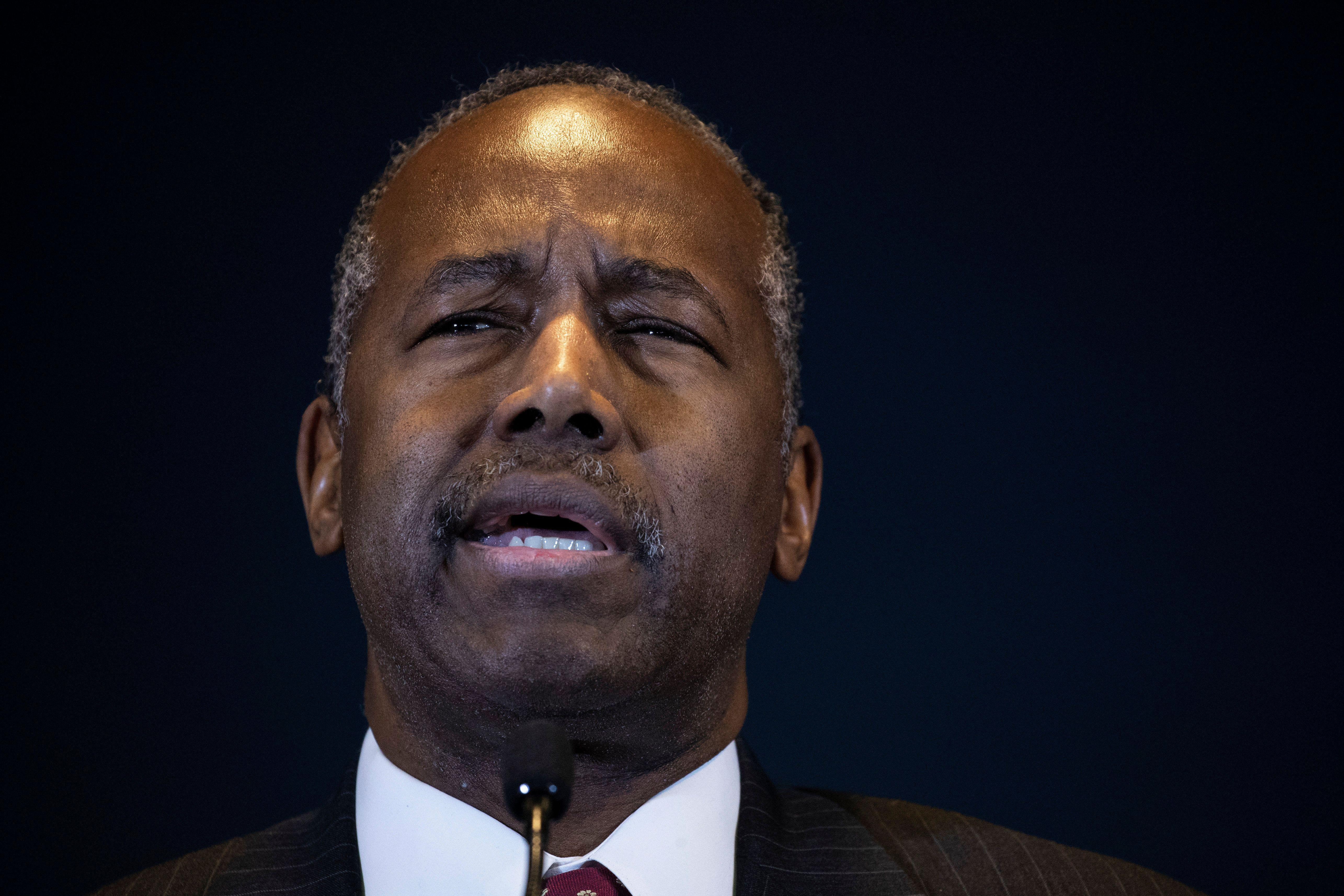 Ben Carson: HUD will take 'as much time as is necessary' on housing finance reform