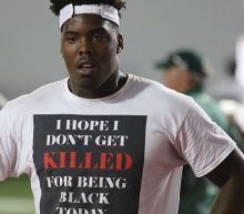 The message behind Tyreke Smith's 'I Hope I Don't Get Killed For Being Black Today' T-shirt