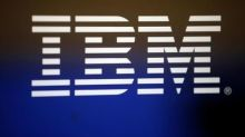 IBM beats revenue estimates; hints at sales growth