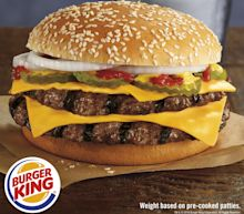 Sound familiar? Burger King launches quarter pound burger