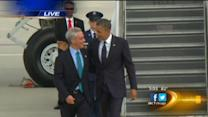 President Obama returns to Kenwood home after attending fundraisers