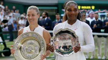 Kerber knocks off Serena, wins Wimbledon title