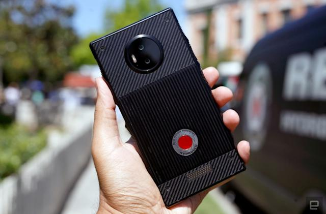 RED's Hydrogen One phone is delayed again