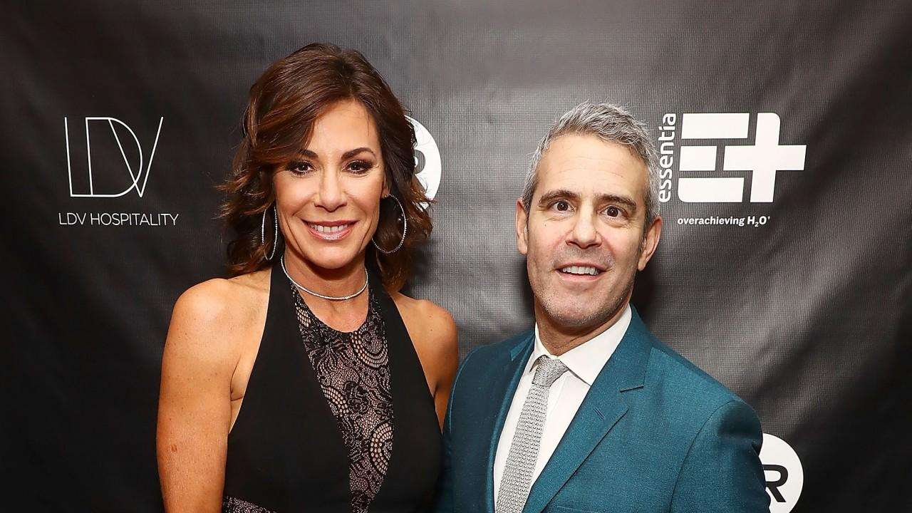 Andy Cohen Reacts to Luann de Lesseps Returning to Rehab