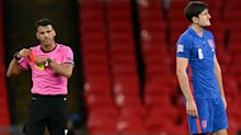 Harry Maguire's nightmare season continues with red card for England