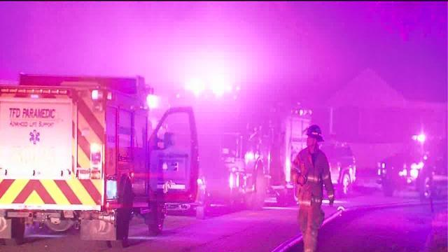 2 Tulsa homes damaged in overnight fires