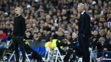 Foot - C1 - City - Ligue des champions : Pep Guardiola rend hommage à Zinédine Zidane avec Manchester City - Real Madrid