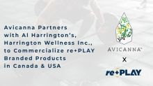 Avicanna Enters Multi-level Strategic Partnership with Al Harrington's, Harrington Wellness Inc., to Commercialize re+PLAY™ Branded Products in Canada and the United States