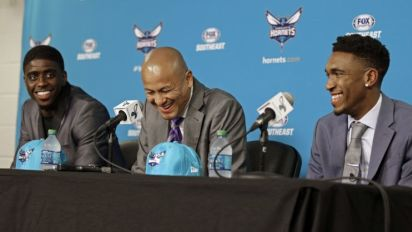 Oops: Hornets GM accidentally introduces Dwayne Bacon as 'Dwyane Wade' (Video)