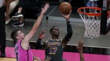 Butler scores 28, Heat beat depleted Lakers 110-104