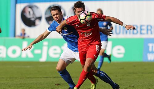 3. Liga: Zwickau rettet 2:2 gegen Hansa