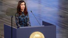 La exesclava sexual de Estado Islámico que ganó el Nobel de la Paz pidió que protejan a las mujeres