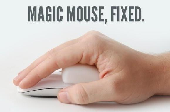 Make your Magic Mouse oh-so-ergonomic with this pasty silicone grip