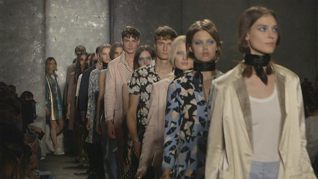 Metallics Rule at the Marc by Marc Jacobs Spring 2014 Runway Show