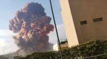 Explosão em Beirute: As imagens de destruição na capital do Líbano