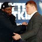 Dillian Whyte confident he can deal with pressure of Alexander Povetkin fight