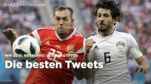 Russland gegen Ägypten: Die besten Tweets zum WM-Spiel