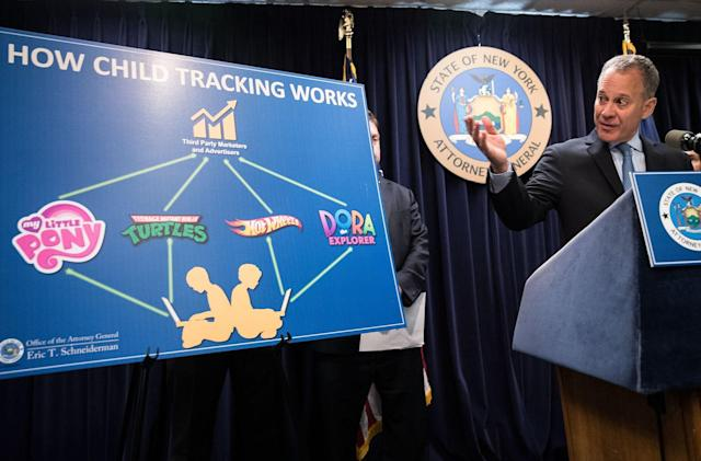 Websites settle with New York over online child tracking