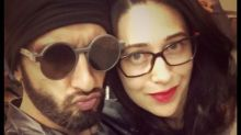 Ranveer Singh Ups The Pout Game, Posts a Selfie with Karisma Kapoor!