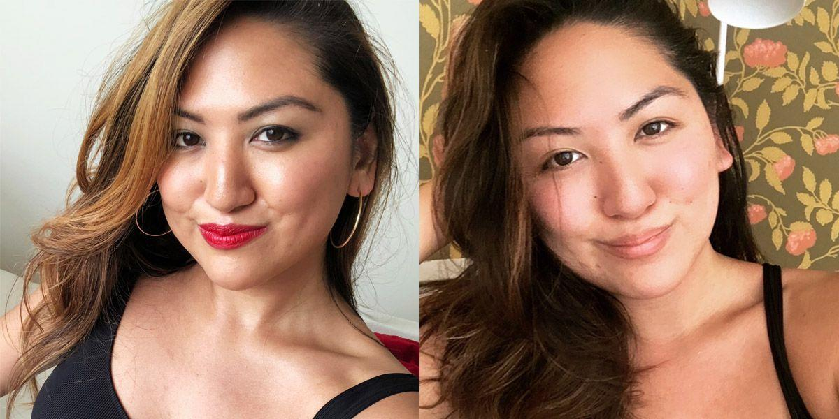 Would You Wear No Makeup On the First Date?