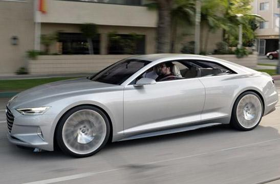 Audi's 605HP Prologue concept car has touchscreens everywhere