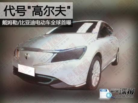 Daimler and BYD's GOLF electric car getting closer to completion?