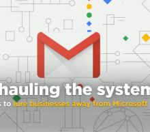 Google overhauls Gmail looks to lure businesses away from Microsoft