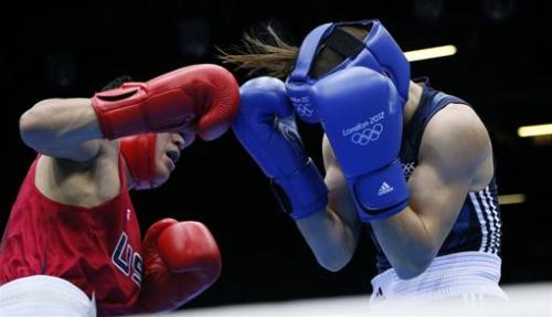 Boxeo - El estadounidense Diaz estrena el boxeo de Londres con victoria amplia