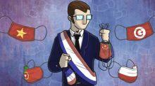 """Masques : malgré la production """"made in France"""", le secteur public s'approvisionne toujours... à l'étranger"""