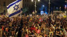 Israel: la extrema derecha se moviliza para defender al premier y se esperan choques