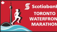More than 25,000 runners hit the streets for the 29th edition of the Scotiabank Toronto Waterfront Marathon