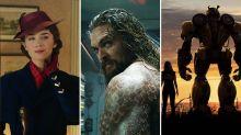 Box Office: 'Aquaman' Debuts at No. 1 With $72 Million, 'Mary Poppins Returns' Beats 'Bumblebee'