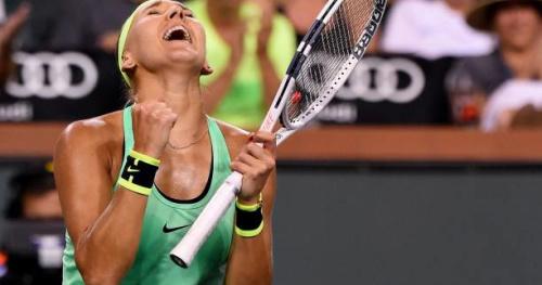 Tennis - WTA - Indian Wells - Indian Wells : Elena Vesnina s'impose en finale face à Svetlana Kuznetsova