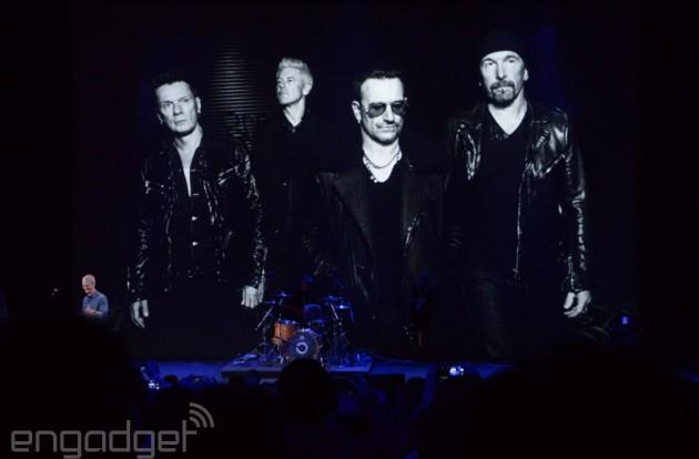 U2's free album spread to 81 million iTunes users