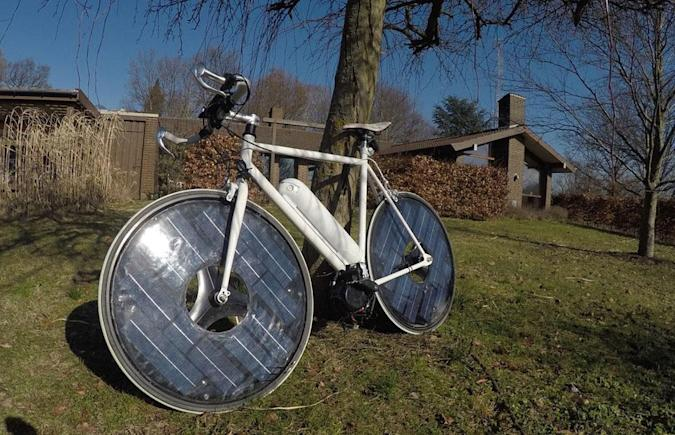 The Solarbike is a very real thing