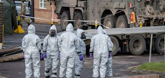 Russian diplomat: UK lab may be nerve agent source