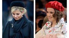 La reina Máxima se despide de su hermana