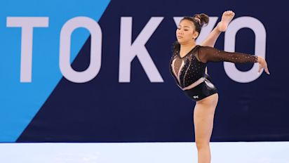 For this gymnast, silver would be like gold