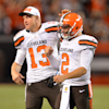 Josh McCown — the quarterback who's been fighting Johnny Manziel for his job — had a heartfelt response to Manziel's latest incident