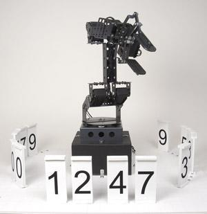 Stonehenge robotic clock: telling time never looked so fun