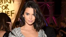 Kendall Jenner wore the most extra sparkly jumper