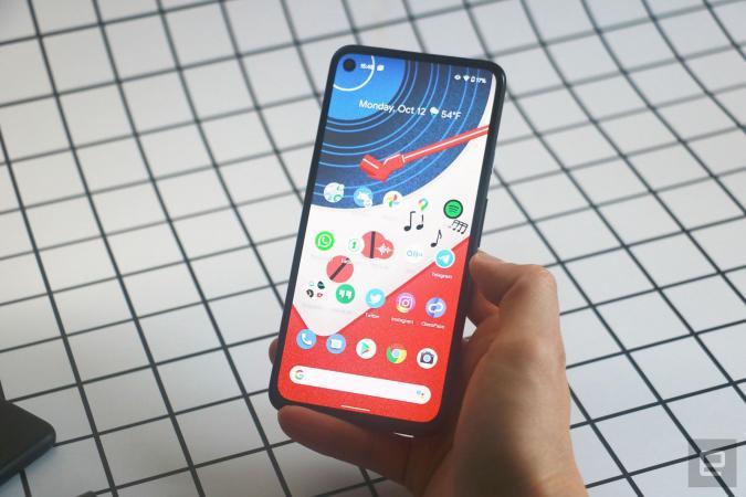 Google's Pixel 4a 5G is $50 off